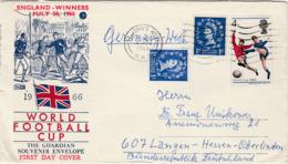 GRANDE BRETAGNE  COUPE DU MONDE DE FOOTBALL 30 .07.1966 - Collections