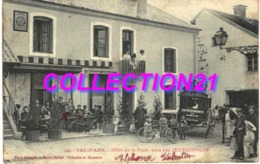 VAL D AJOL .... HOTEL DE LA POSTE ... JEANGEORGES ... CALECHE CORRESPONDANCE DU CHEMIN DE FER - France