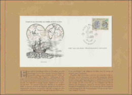26 EUR - FDC - Timbres De Tous Les Pays – Italie – Antonio Pigafetta - 28-04-1980 – Rome - 6. 1946-.. Republic