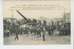 GUERRE 1914-18 - Canon Allemand De 28 (Exposé Au Champ De Mars ) - War 1914-18