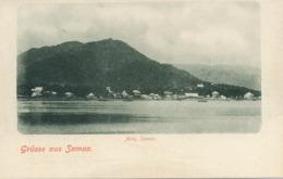 Grusse Aus Samoa Apia Pioneer Card Undivided Back - Samoa