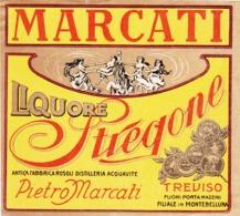 Liquore Stregone - Pietro Marcati - Filiale Di Montebelluna, Treviso - Etiketten