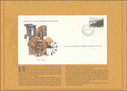 27 EUR - FDC - Timbres De Tous Les Pays – La Grèce – Péninsule De Sithonie - 15-12-1979 – Athènes - FDC