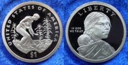 """USA - Dollar 2009 S """"Sacagawea"""" KM# 467 Proof - Edelweiss Coins - 2000-…: Sacagawea"""