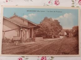 Meurcourt La Gare Du Tramway Haute Saône Franche Comté - Otros Municipios