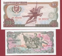 Corée Du Nord 2 Billets ---UNC - Corée Du Nord