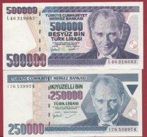 Turquie  2 Billets ---UNC - Turquie