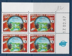 "Nle-Caledonie Coins Datés Aerien YT 255 (PA) "" Bruit "" Neuf** Du 17.02.1987 - Ongebruikt"