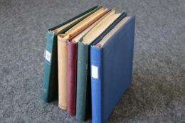 DEUTSCHES REICH + Gebiete Sammlungen In 5 Vordruckalben, 183 Bilder ....209 (F) - Briefmarken