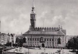 AL25 Copenhagen, The Town Hall - RPPC - Denmark