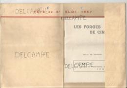 Fête De St-Eloi. Les Forges De Ciney. 30 Novembre 1957. - Livres, BD, Revues