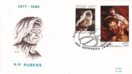 België - FDC 485-487 - 4 September 1976 - 400e Verjaardag Van De Geboorte Van Pieter Paul Rubens - OBP 1816-1821 - FDC