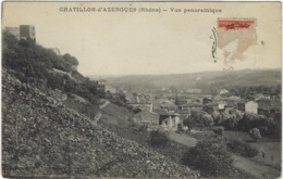 69  Chatillon  D'azergues  Vue Panoramique - Francia