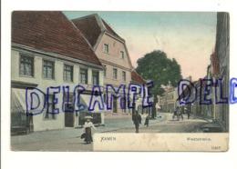 """Allemagne. Kamen. Weststrasse. Animée. Verso : Pub Pour """"Au Bas Tricolore"""". Reinicke & Rubin - Kamen"""