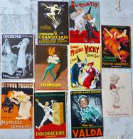 Lot De 10 CPM Publicitaires Médicaments; Valda, Doloricure, Géraudel, Gobey, Vichy ... - Pubblicitari