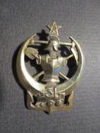 Insigne - 31 Eme Bataillon Du Génie Maroc - A.Augis , Lyon - 1939 - B.E - Landmacht