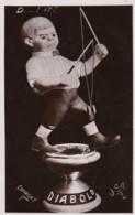 AO35 Children - Boy Playing With A Diabolo - RPPC - Games & Toys