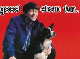 AO35 Advertising Postcard - Good Clean Fun - Vladivar Vodka - Advertising