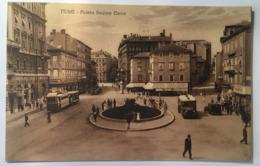 19348 Fiume - Piazza Regina Elena - Croazia