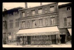 51 - SAINTE-MENEHOULD - CAFE DE L'HOTEL ST-NICOLAS - Other Municipalities