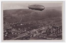 AK Motive Zeppelin (004690) Haltingen Vom Flugzeug Aus, Ungebraucht - Dirigeables