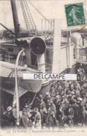 LE HAVRE - Émigrants à Bord D'un Navire En Partance Pour New York ( Émigrant Juif ? à Confirmer ) - Le Havre