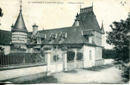 N°76698 -cpa Germigny L'Exempt -château Gaillard- - Autres Communes