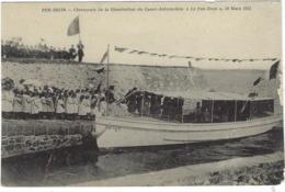 44 Pen-bron    Ceremonie De La Benediction Du Canot-automobile Le Pen-bron 18 Mars 1913 - Francia