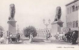AN52 Cairo, Kars-el-Nil Bridge - Animated - Cairo