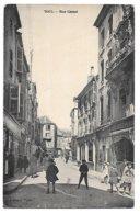 Cpa.....Toul ...rue Carnot...animée..commerces...1939...cachet Militaire..dépot Du 25e Régiment De Tirailleurs.. - Toul