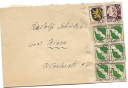 222 - 82 -  Enveloppe Envoyée De Bingen 1947 - Zone Française