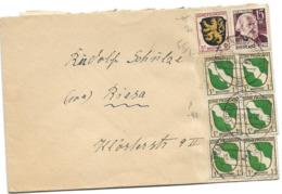 222 - 82 -  Enveloppe Envoyée De Bingen 1947 - French Zone