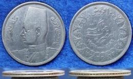 EGYPT - Silver 10 Piastres AH1356  1937 KM# 367 Farouk I  - Edelweiss Coins - Egypt