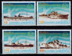 MVS-BK1-712 MINT ¤ HELLAS 2000 4w In Serie ¤ VOILIERS - ZEILSCHEPEN - BOATS AND SHIPS AROUND THE WORLD - Maritiem