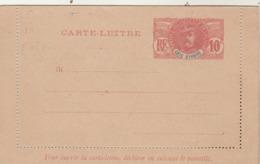 Côte D'Ivoire - Entier Postal Carte Lettre - Neuve Mais Collée - Lettres & Documents