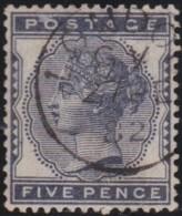 Great Britain   .   Yvert  .   71 (1880-81)  .  Crown   .      O    .    Cancelled .   /   .   Gebruikt - 1840-1901 (Victoria)