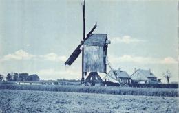 Windmolen Molen Windmill Moulin Au Vent Handaardmolen Te Verden  Nederland   Barry 1058 - Moulins à Vent