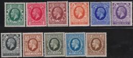 Great Britain  . Yvert    .   187/197      .   **   .    MNH   .   /  .   Postfris - 1902-1951 (Re)