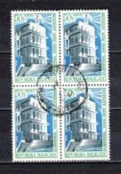 MADAGASCAR   N° 454  EN BLOC DE QUATRE TIMBRES   OBLITERES   COTE 1.20€    MOSQUEE - Madagascar (1960-...)