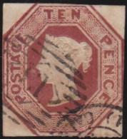 Great Britain  . Yvert    .   6      .   O   .  Cancelled      .   /  .   Gebruikt - 1840-1901 (Victoria)