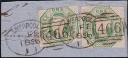 Great Britain  . Yvert    .   7 Paire       .   O   .  Cancelled      .   /  .   Gebruikt - 1840-1901 (Victoria)