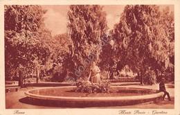 Cartolina Roma Monte Pincio Timbro A Targhetta Salsomaggiore 1927 - Non Classificati