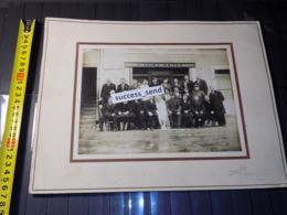 Grande PHOTO MARIAGE, Photo PROT LIGNY EN BARROIS Meuse. SOLDAT CHASSEUR FORESTIER. Vers 1910/1920 - Photographs