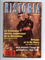 Historia: La Commune, Revolution, Brissac Et La Du Barry, Mission Congo Nil, Indochine (19-2311) - Geschiedenis