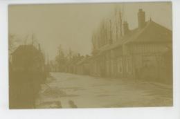 TROYES (environs) - SAINT JULIEN - Belle Carte Photo Des Inondations De Janvier 1910 - France