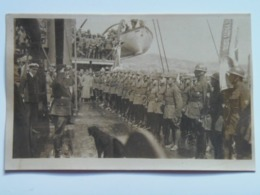 Russia 379 Vadivostok Foto Photo 1918 General Cecek On Warship Ixion - Russland