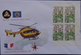 2000? - COVER - FRANCIA, SECURITE CIVILE (DDSC) - EUROCOPTER KAWASAKI EC-145 - Frankrijk