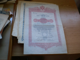 Staals Rento Obligation 200 Zweihundert Kronen Wien 1893 - Austria