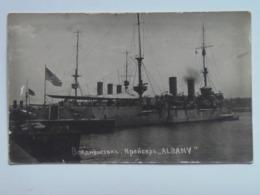 Russia 376 Vadivostok Foto Photo 1918 USA Warship Albany - Russland
