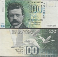 FINLAND - 100 Markkaa 1986 (1991) P# 119 - Edelweiss Coins - Finlandia
